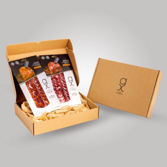 Pack of Sliced Chorizo & Salchichon Iberico de Bellota Acorn Fed