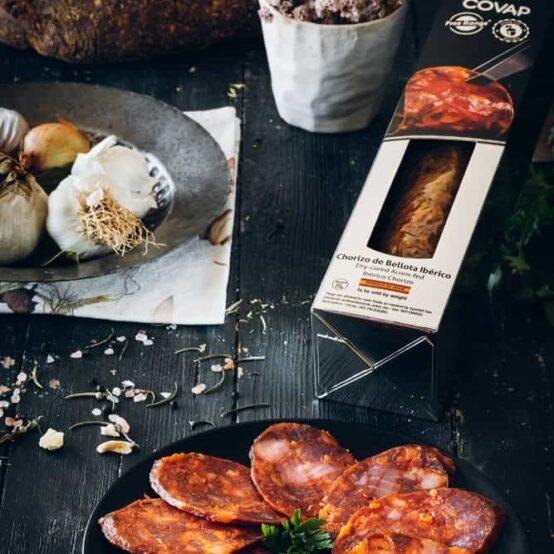 Sliced Chorizo Iberico de Bellota