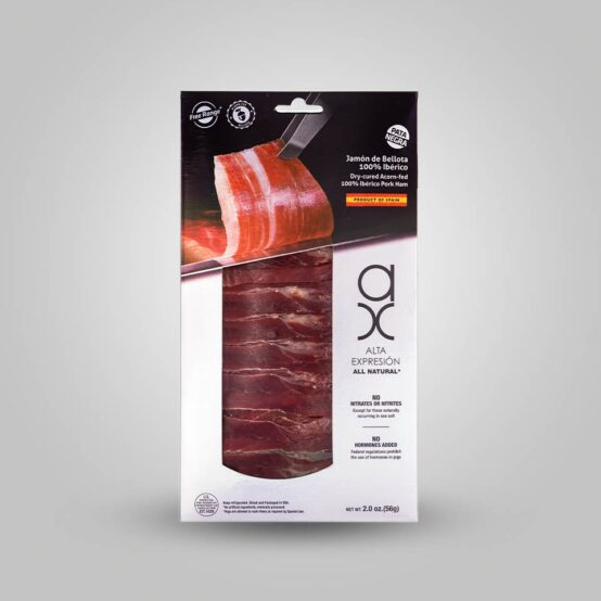 Sliced Jamon Iberico in Package | Sliced Acorn-Fed Iberico Ham