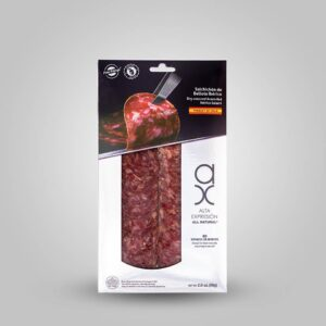 Sliced Salchichon Iberico in Package