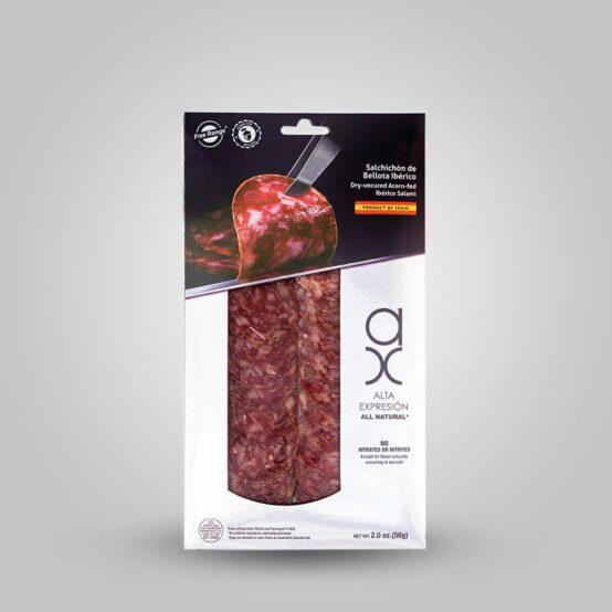 Sliced Salchichon Iberico in Package
