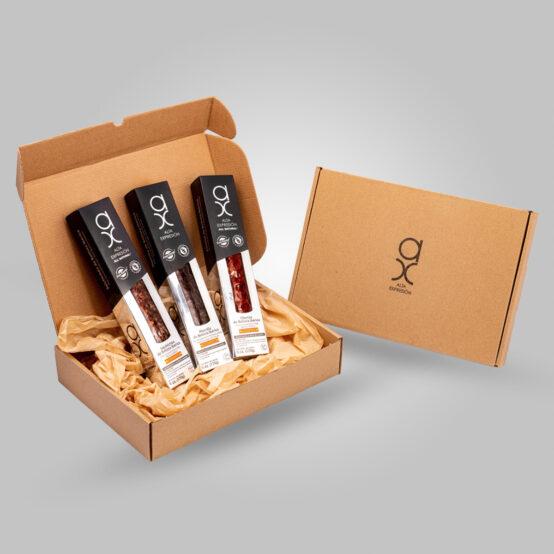 Trio Box: Chorizo, Salchichon & Morcilla (6oz/ea)