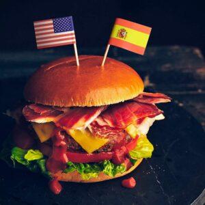 Hamburguesa Usa España